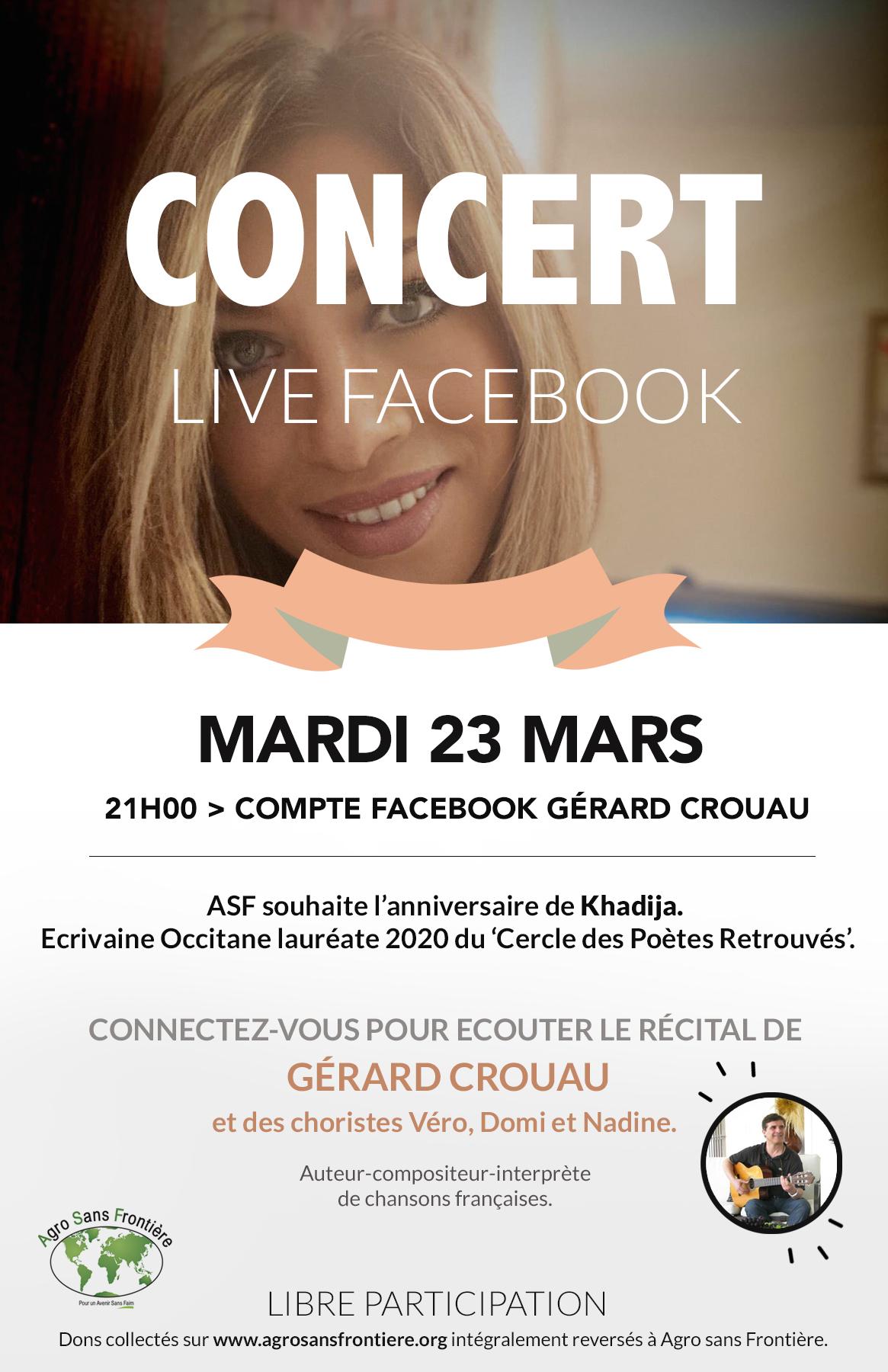 CONCERT Live Facebook